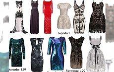 Wybieramy TOP sukienki na Sylwestra i karnawał 2016 ze sklepów