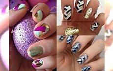 Herrigbone manicure - Intrygujący wzór na paznokciach, który urozmaici twój look