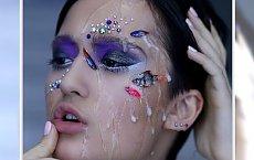 Ta Rosyjska makijażysta użyła martwe rybki do swojego look'u! - Zobacz efekty