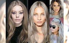 Najbardziej stylowa koloryzacja włosów 2016 - popielate blondy w genialnych odcieniach