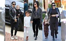 Styl Kourtney Kardashian: Moda dla modnej mamy. Zobacz propozycje codziennych stylizacji