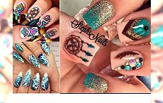 WIOSNA 2016: Boho manicure