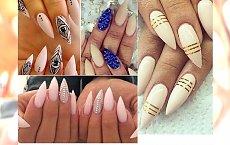 Stiletto nude manicure - styl, elegancja i klasa na każdą okazję