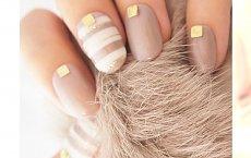 Beżowe paznokcie nude - 20 pomysłów na cielisty manicure dla wielbicielek minimalizmu