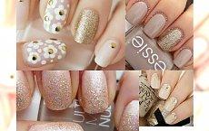 Sexy glitter nude nails - olśnij wszystkich swoim manicure!