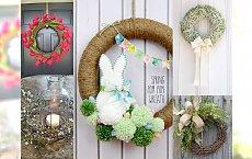 Przepiękne stroiki i ozdoby świąteczne na Wielkanoc: 37 stylowych pomysłów