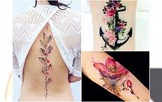 Delikatność i dziewczęcość z kwiecistymi tatuażami  - Ponad 30 niesamowitych wzorów na 2016