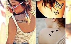 Tatuaż na łopatce - 30 super wzorów na plecy