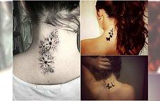Tatuaż na karku - wzory tak urocze, że zechcecie je mieć jeszcze przed latem