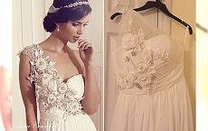 Suknie ślubne z internetu vs. rzeczywistość. To, co przyszło, okazało się koszmarną podróbką
