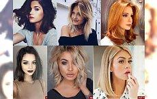 Półdługie fryzury 2016 - idealne na letnią metamorfozę! TOP 30