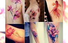 Watercolor tattoo, czyli akwarelowy tatuaż