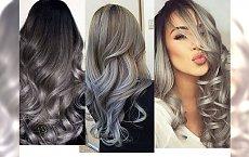Silver ombre - koloryzacja z metalicznym odcieniem dla stylowych kobiet