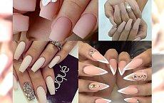 Nude matte manicure - klasyka dla stylowych kobiet