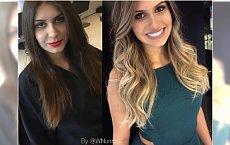 Brunetki robią się na blond i wyglądają fantastycznie! Te metamorfozy zachęcą was do zmiany koloru