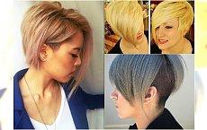 Krótkie fryzury asymetryczne - kobiece i na czasie