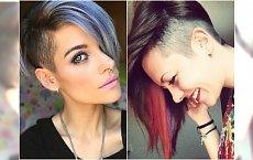 Krótkie fryzury undercut - golimy boki kobieco i z pomysłem