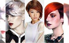 Krótkie fryzury 2016 - katalog. Modne cięcia z grzywką, asymetryczne, undercut