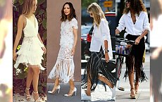 HOT: Spódnica z frędzlami hitem na lato 2016 - Najmodniejsze inspiracje Street Style