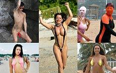 Letnie horrory: 20 Tandetnych kostiumów kąpielowych, które NIE mogą być na serio!