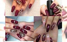 Czerwony manicure – te odcienie Was urzekną!