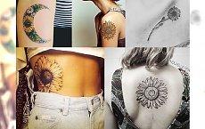 Sunflower tattoo - uroczy motyw dla kobiet kochających kwiaty