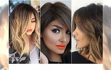 Urocze fryzury półdługie - stawiamy na proste cięcia i minimalną stylizację