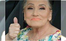 Ona jest niesamowita! Glam-Ma testuje nowy trend w makijażu. Efekt genialny!
