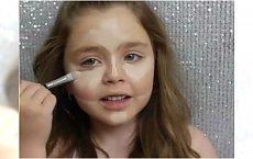 Ma 6 lat i robi profesjonalne makijaże. Internet jest w szoku!