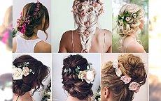 Kwiaty we włosach, czyli... stylowa alternatywa dla welonu