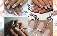 French manicure - piękne propozycje na ślubne paznokcie