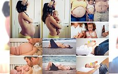 ZACHWYCAJĄCE zdjęcia, pokazujące piękno ciąży i narodzin - 30 mega transformacji, które musisz zobaczyć!