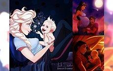 Już wiemy, jak najbardziej uwielbiane gwiazdy Disney'a wyglądałyby jako matki! Nie możesz tego przegapić!