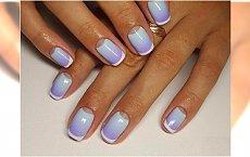 Ombre french manicure - super trend na lato!