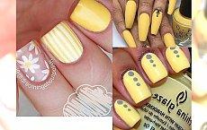 Yellow manicure - zatrzymaj lato na dłużej!