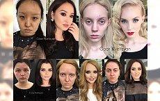 Te kobiety doświadczyły magicznej siły makijażu. Zmieniły się nie do poznania!!! Powiedziałabyś, że to te same osoby?!