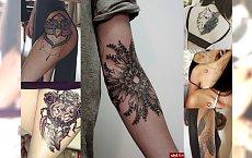 18 supermodnych tatuaży, które Cię uwiodą!