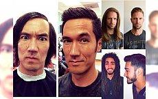 Zobaczcie, jak odpowiednia fryzura może zamienić zwykłego faceta w księcia! TE METAMORFOZY SZOKUJĄ!
