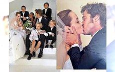 ACH, CO TO BYŁ ZA ŚLUB... - Holywood wspomina niezwykły ślub Angeliny i Brada