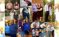 Te pary miały dużą nadwagę i postanowiły wspólnymi siłami zawalczyć o nowe życie! Zobacz, jak teraz wyglądają... To jest wręcz niemożliwe!