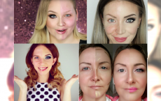 CO ZA ODWAGA! Pokazały, jak wyglądają naturalnie i w pełnym makijażu... Różnice są OGROMNE!