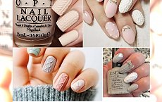 "Knit nails - ""sweterkowy"" mani na chłodne dni. Ociepl swój look!"