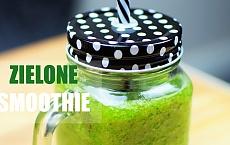 Zielony koktajl z kiwi i pietruszki. Idealny detoks dla organizmu!