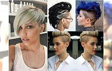 Krótkie fryzury undercut - golimy boki elegancko i z pomysłem