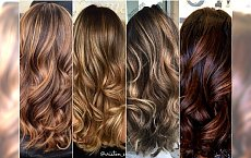 Modne kolory włosów: cynamon, karmel, czekolada. Wypróbujcie je w postaci refleksów, ombre lub sombre