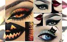 Makijaż oczu na Halloween - 20 fantastycznych pomysłów, jak pomalować oczy