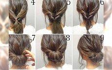 Krok po kroku - piękne fryzurki dla półdługich i długich włosów (zbiór foto-tutoriali)