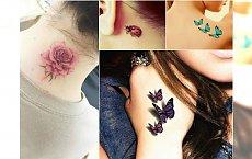 Małe tatuaże 3D - zakochacie się w tych wzorach!
