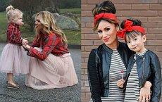 20 stylowych mam, które wyglądają DOKŁADNIE jak córki