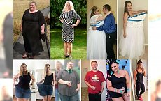 OMG! Można pozazdrościć im takiej motywacji i silnej woli! SCHUDLI wiele kilogramów i przeszli ogromne METAMORFOZY!